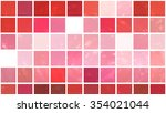 abstract background. red mosaic | Shutterstock . vector #354021044