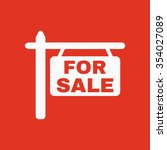 the for sale icon. sale symbol. ... | Shutterstock .eps vector #354027089
