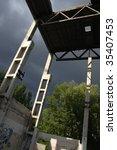 desolate factory | Shutterstock . vector #35407453