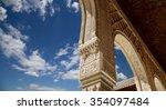 arches in islamic  moorish  ... | Shutterstock . vector #354097484