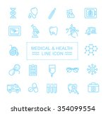 icons for medicine | Shutterstock .eps vector #354099554