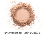 various foundation powder... | Shutterstock . vector #354105671