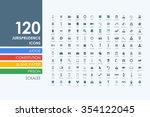jurisprudence vector set of... | Shutterstock .eps vector #354122045