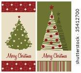 raster version of christmas... | Shutterstock . vector #35412700