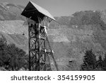 Mine Head   Headframe Tower...