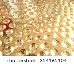 abstract shiny golden background | Shutterstock . vector #354165104