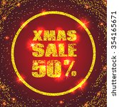 sale design card. red... | Shutterstock .eps vector #354165671