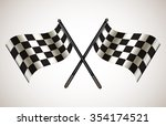 "pair of crossing race ""go""... 