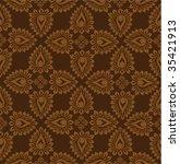 retro wallpaper | Shutterstock .eps vector #35421913