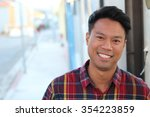 portrait of asian man | Shutterstock . vector #354223859
