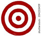 vector grunge target | Shutterstock .eps vector #354233459