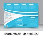 flyer  brochure  magazine cover ... | Shutterstock .eps vector #354281327