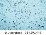 close up of water drops on... | Shutterstock . vector #354291449