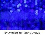 abstract circular bokeh... | Shutterstock . vector #354329021