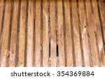 close up old dirty wooden wall...   Shutterstock . vector #354369884