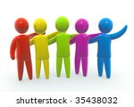 team | Shutterstock . vector #35438032
