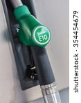 German Gas Station Super E10...