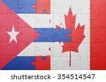 puzzle with the national flag... | Shutterstock . vector #354514547