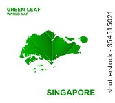 map of singapore nature green... | Shutterstock .eps vector #354515021