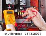 electrician   Shutterstock . vector #354518039