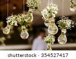 original wedding floral... | Shutterstock . vector #354527417