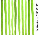 pattern with watercolor stripes. | Shutterstock . vector #354539297