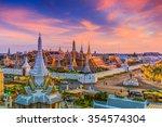 Landmark Of Bangkok City Templ...