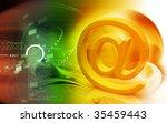 digital illustration of at the... | Shutterstock . vector #35459443