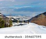 park city rail trail   Shutterstock . vector #354607595