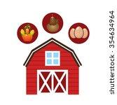 farm fresh design  vector... | Shutterstock .eps vector #354634964