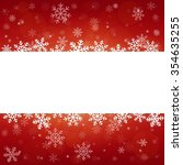 vector merry christmas and... | Shutterstock .eps vector #354635255