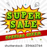banner super sale  discount....   Shutterstock .eps vector #354663764
