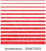 grunge set stripe. vector... | Shutterstock .eps vector #354675101
