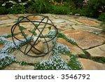 Ornament On Patio Garden
