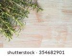 bunch of fresh of garden... | Shutterstock . vector #354682901