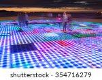 blurred sun sculpture panel... | Shutterstock . vector #354716279