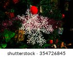 christmas decoration  pine... | Shutterstock . vector #354726845