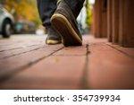 walking on the road   Shutterstock . vector #354739934
