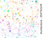 Dots Colored Star
