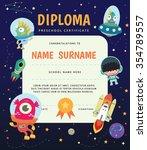 preschool elementary school... | Shutterstock .eps vector #354789557