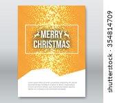merry christmas orange