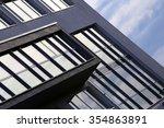 sky in windows. reflex of... | Shutterstock . vector #354863891