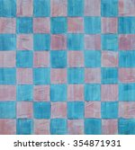 A Painted Chessboard Pattern