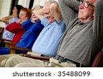 seniors exercising | Shutterstock . vector #35488099