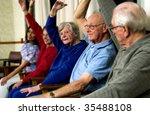 seniors exercising | Shutterstock . vector #35488108