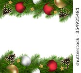 christmas or new year... | Shutterstock . vector #354925481
