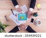 business team concept   credit... | Shutterstock . vector #354939221