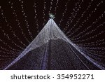 new year's decorative street... | Shutterstock . vector #354952271