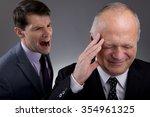 the office bully | Shutterstock . vector #354961325