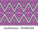 geometric ethnic  pattern... | Shutterstock .eps vector #354983285